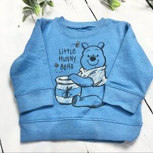 Disney - Boys Blue Winnie the Pooh Sweatshirt